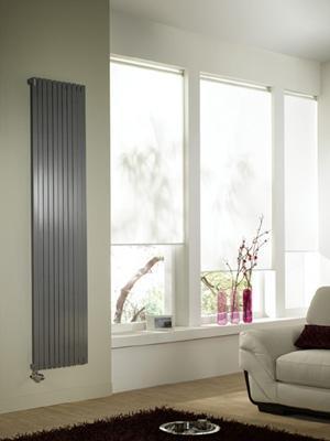 Radiateur decoratif chauffage central altai vertical double - Radiateur decoratif chauffage central ...