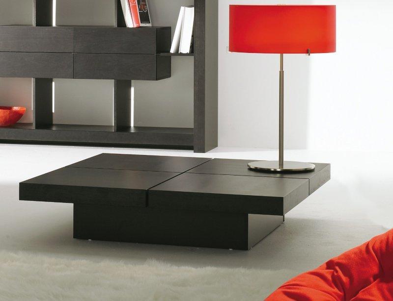 temahome kyoto table basse japonaise 4 plateaux bois design. Black Bedroom Furniture Sets. Home Design Ideas