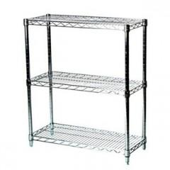etagere fil metallique