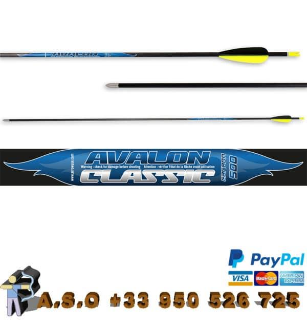 Avalon – flèches carbone classic 4.2