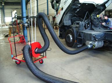 Kit Extracteur Mobile Poids Lourds
