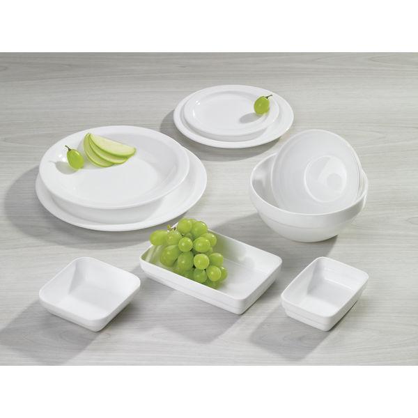 Restaurant assiette plate x 6 for Fournisseur vaisselle restaurant