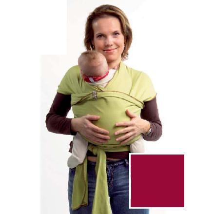 c52e4e0b9c5 Me and mama - echarpe de portage framboise en coton biologique 5m