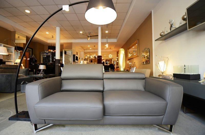 canape 3 4 places itaca nicoletti cuir vachette assises. Black Bedroom Furniture Sets. Home Design Ideas