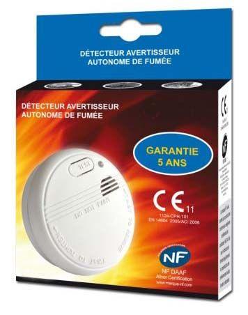 detecteur de fumee nf afnor ht par 48 pcs. Black Bedroom Furniture Sets. Home Design Ideas
