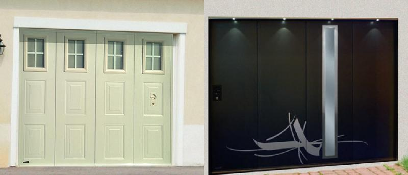 France ouvertures produits portes de garage sectionnelles for Porte de garage aludoor