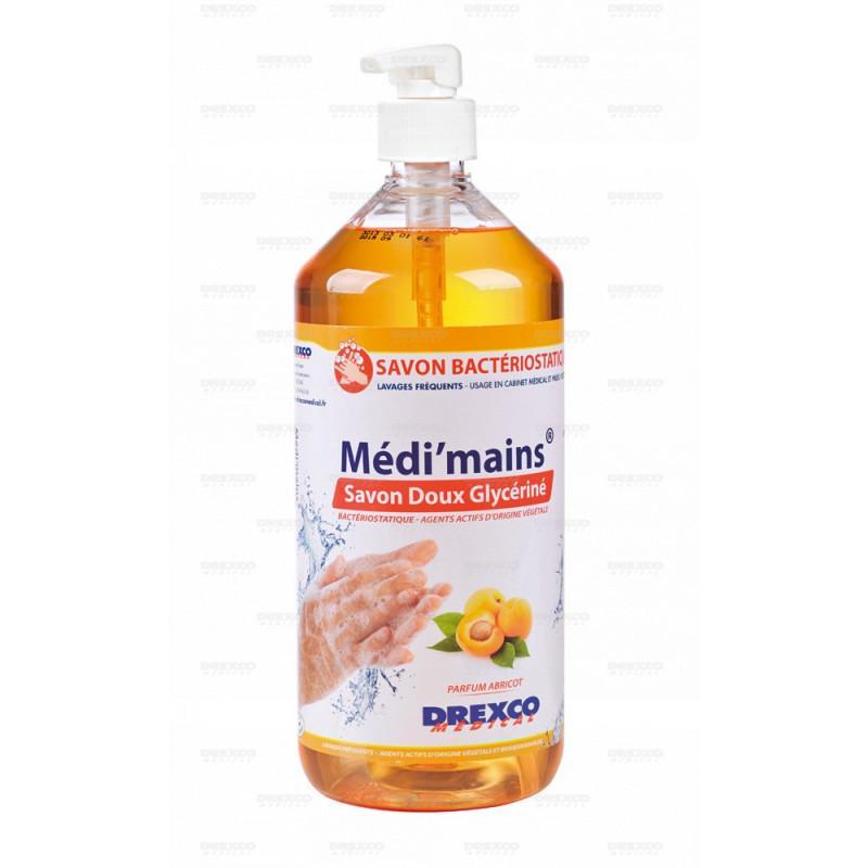 Lotion lavante medi'mains abricot 1 litre