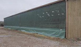 Rideaux pour bâtiments agricoles
