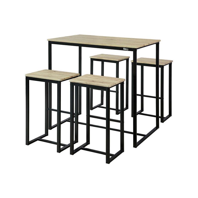 Sobuy 2 mod les de tabourets de la marque sobuy en vente - Table de cuisine haute avec tabouret ...