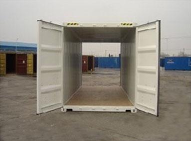 container double door 20 pieds capsa container. Black Bedroom Furniture Sets. Home Design Ideas