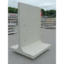 Element de soutenement t hauteur 150cm largeur 150cm