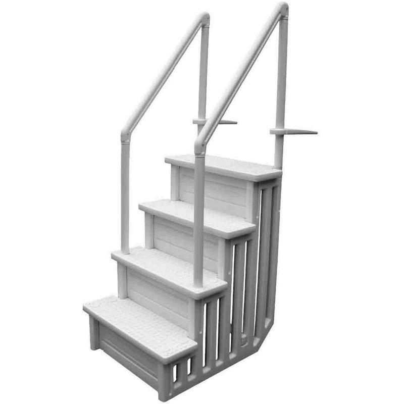 Escaliers chelles et plongeoirs de piscine piscineo for Piscine bois 2x3