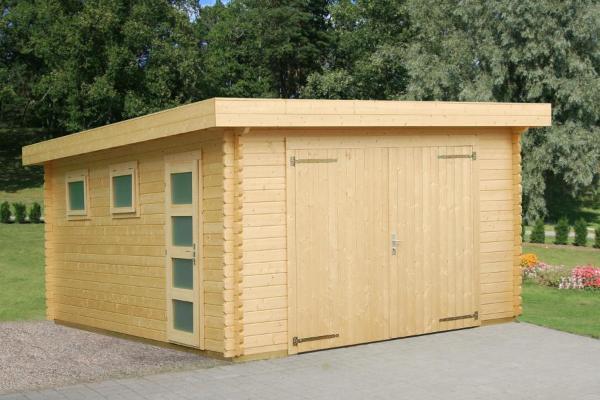 Abris clotures et jardins de provence produits garages for Plan garage bois