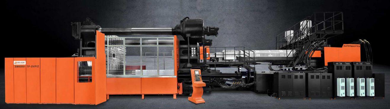 Presses à injecter plastique chen hsong - supermaster tp 700-6500t