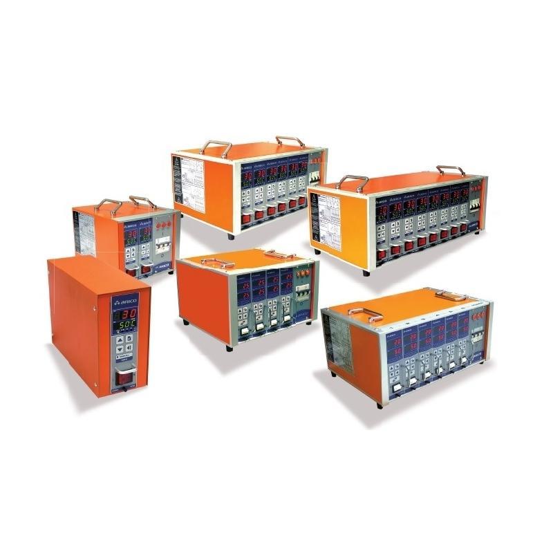Regulateur de canaux chauds de 1 à 12 zones