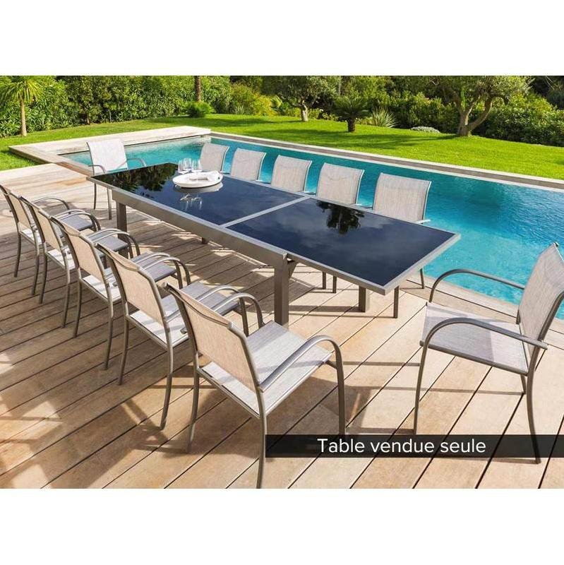 Table d 39 ext rieur hesperide achat vente de table d for Table exterieur 12 places