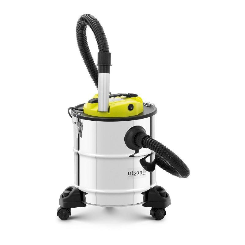 Aspirateur à cendres - 1 200 watts - inox - filtre hepa - roulettes 14_0000480