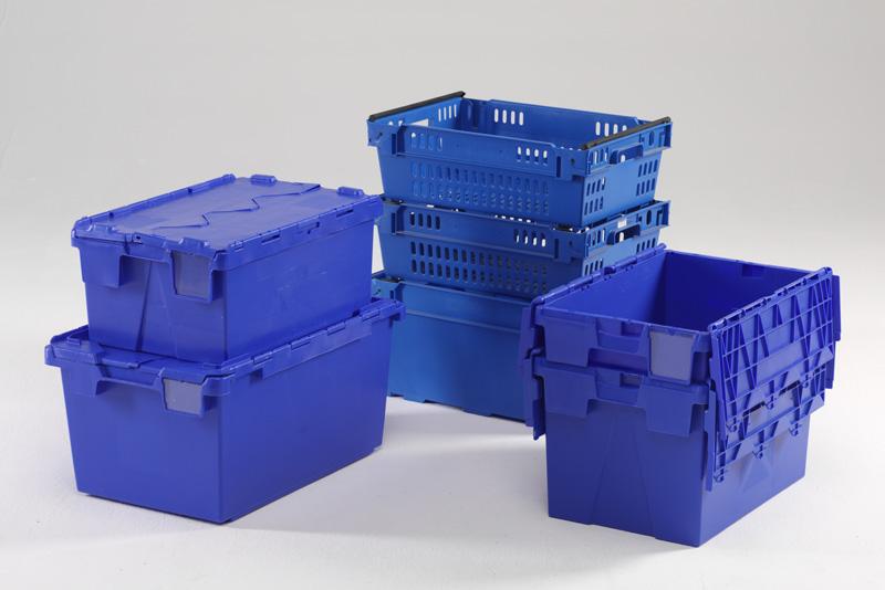 Rangement caisse plastique for Caisse plastique rangement