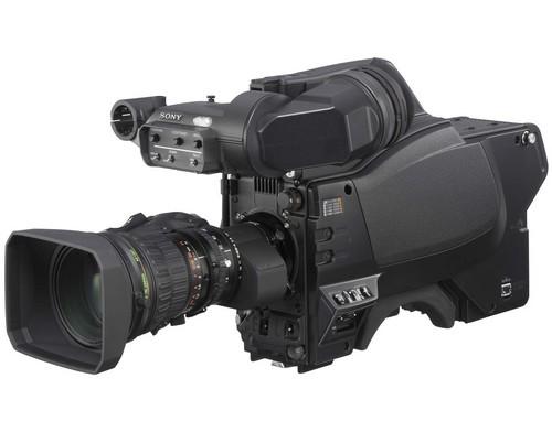 Caméra hd 2/3'' de studio triax numérique