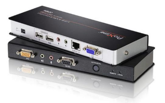 CE770 - DÉPORT KVM VGA CÂBLES CAT.5E/6 USB / MINI-JACK / RS-232