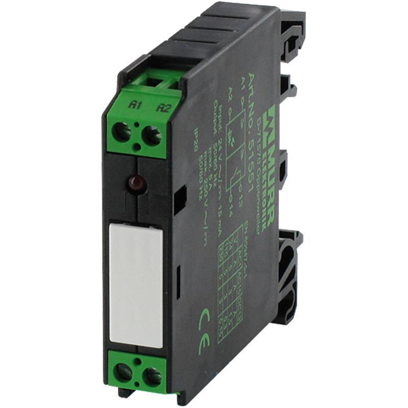 Module relais d'entrée in: 24vac/dc - out: 125vac/dc/1 a 51560 | rmme 11/24 ac/dc