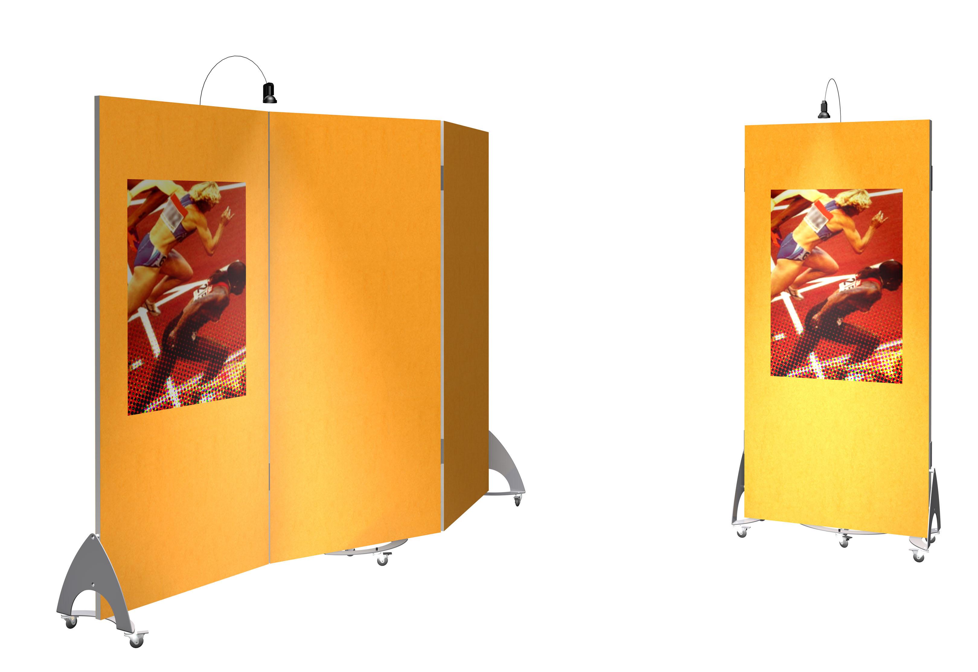 stand paravent mobile en tissu. Black Bedroom Furniture Sets. Home Design Ideas