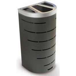 poubelle separation des dechets 95 litres 3. Black Bedroom Furniture Sets. Home Design Ideas