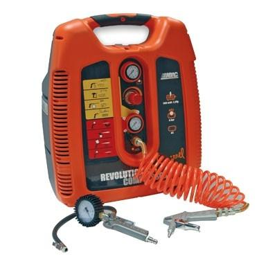 COMPRESSEUR SQUIRREL REVOLUTIONAIR 6L1.5HP MECAFER