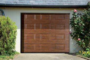 Porte de garage sectionnelle lagardelle fermetures - Fournisseur porte de garage sectionnelle ...