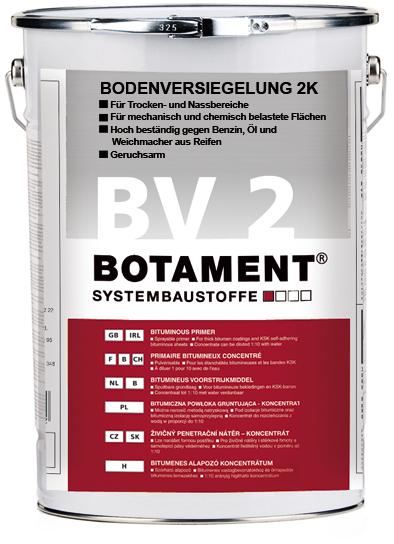 Botament®  bv 2 vitrification de sol 2k