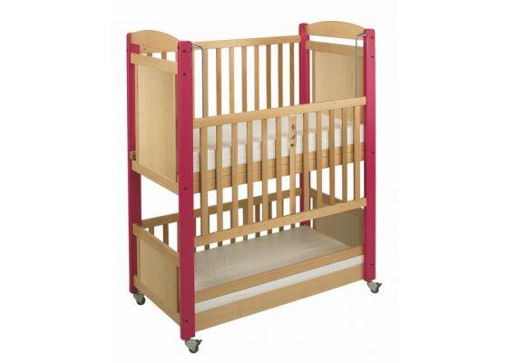 lits pour creches double couchage superpose a panneaux. Black Bedroom Furniture Sets. Home Design Ideas