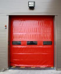 Porte rapide / à empilement / en plastique / utilisation extérieure