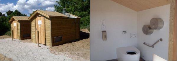 Toilette saniverte
