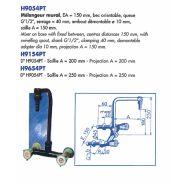 H9154PT - Robinet de laboratoire - LABOTHERM - Serrage 40 mm