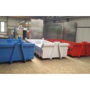 Bennes série renforcées - Benne à déchets - SARL Chaudronnerie Besson - Berce IPN 180 renforcé
