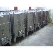 Cuves de transport - De Vermont - en inox, vinification