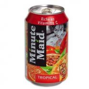 CANETTE MINUTE MAID 33CL TROPICAL