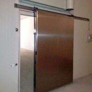 Porte de chambre froide coulissante - jingquan - 10kw 500kg