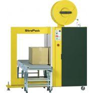 Sq-800y - cercleuse automatique - strapack - taux de cerclage standard : 50 sangles / min