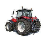 MF 7715-7719 S - Tracteur agricole - Massey Ferguson - 155-220 CH
