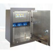 FLUBOX - Borne de distribution d'énergie fixe - Escaflux - Corps et réservation sont en INOX 316L épaisseur 2 mm