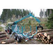 S-line Remorque forestière - Pfanzelt Maschinenbau GmbH - Charge utile en forêt 6 t, 9,2 t ou 11 t