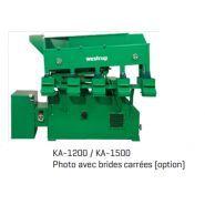 KA-1200-1500-1900-2200-2600 1.5-6 T/H - Matériels de triage alimentaire - Westrup - Capacité de 1,5 à 6 t/h