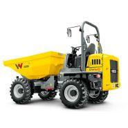 Dw60 dumper sur pneu - wacker neuson - 6000 kg