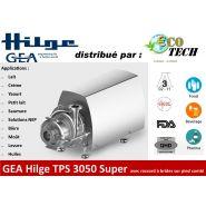 Gea hilge tps 3050 super pompe hygiÉnique avec raccord À brides sur pied combi