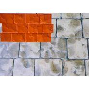 Pavés dim 74 x 42 cm moule à beton - harmony beton