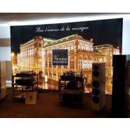 Cadre retro éclairé - Stand exposium - 2 hauteurs disponibles : 2,30m et 2,50m