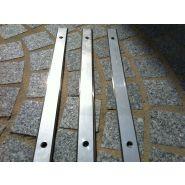 Tactiguidinox - bande de guidage - sma - tactifrance - dimensions: 1000 * 30 * 4 mm