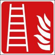 Panneau de signalisation - echelle d'incendie