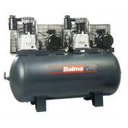 Compresseurs d'air à courroie à double étage série Tandem et 15 bar - MultiAir Italia S.r.l - Modèle NS29S/500 T 4 à NS7000/500 YD 15 bar - 400/50 Volt/Hz